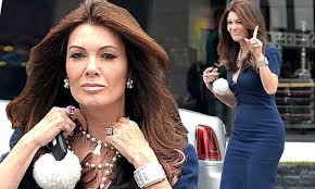 linda vanserpump hair lisa vanderpump cuts a stylish figure in body hugging dress in