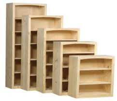 archbold solid pine bookcases