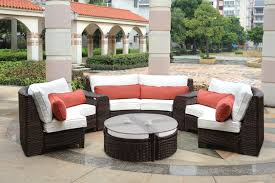 furniture white and orange outdoor bench cushions formodern patio