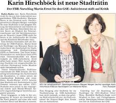 Baden Media Aus Verantwortung Für Unsere Stadt Freie Bürger Für Baden Baden