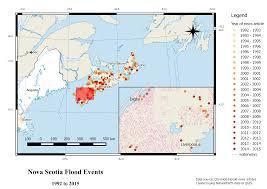 Flood Map Nova Scotia Flood Events