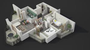 2 Bedroom Modern House Plans by 40 More 2 Bedroom Home Floor Plans