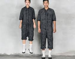 mens jumpsuit fashion industrial jumpsuit etsy