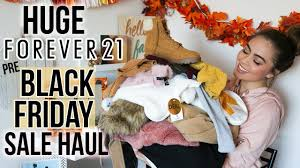forever 21 black friday sale haul fall winter