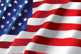 Mexican American Flag Many Stars Blinking Blue Navy Based Red And White Stripes American