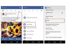 fb app android how to disable the annoying sounds in the app cnet