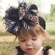 beautiful bows boutique buy big boutique safari leopard zebra the top hair bow