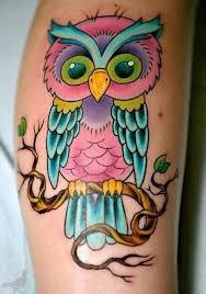 Best 25 Colorful Owl Ideas On Pinterest Cute Owl Tattoo Art Owl Coloring Ideas