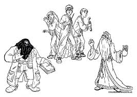 harry potter coloring pages pictures easy colouring pdf