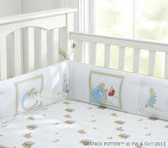 rabbit nursery rabbit baby bedding set pottery barn kids