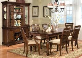 faux leather ladder black hardwood ashley furniture kitchen table
