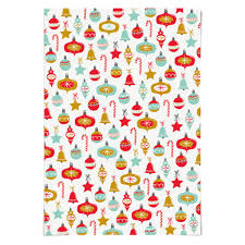christmas ornaments holiday wrapping paper u2013 the little umbrella shop