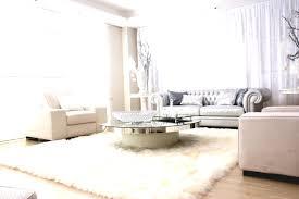 modern formal living room with a fluffy rug and nice sofa set