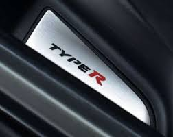 Accessories For Cars Interior Honda Civic X Type R V Fk8 Emblem With Serial Number Cover