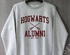 hogwarts alumni sweater hogwarts alumni team crew neck unisex awesome hogwarts sweater