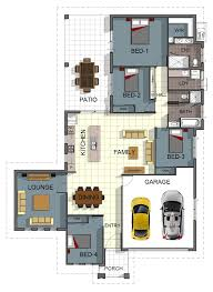 four bedroom house single storey 4 bedroom house floorplan with additional rumpus