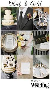 Black Gold Wedding Decorations Black U0026 Gold Wedding Theme Weddbook