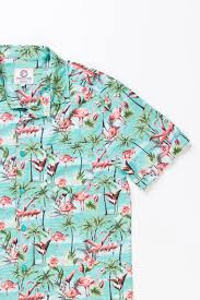 Halloween Hawaiian Shirt by Aqua Flamingo Print Hawaiian Shirt Ragstock