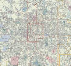 Metro Atlanta Zip Code Map by Mapping Atlanta