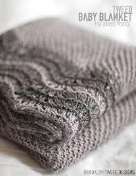 tweed baby blanket pattern now available brooklyn tweed