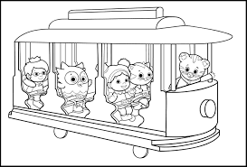 fancy daniel tiger coloring pages 84 in picture coloring page with