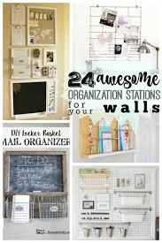 Kitchen Wall Organization Ideas Remodelaholic 24 Awesome Diy Wall Organization Stations