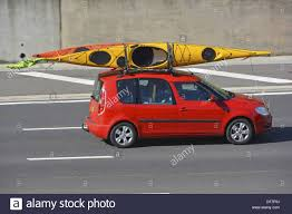 nissan micra car images thule nissan micra 2015 2017 deckglide kayak carrier with kayak