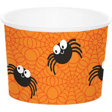 halloween spiders for sale creative converting 72ct treat cups halloween spiders on