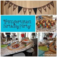 transportation birthday party teaching mama