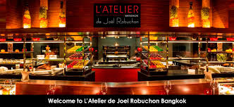 la cuisine de joel robuchon งานโรงแรม l atelier de joel robuchon ล ตเตอล เย เดอ โจเอล