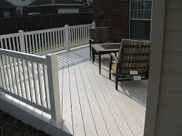 vinyl decks and vinyl railings in dallas