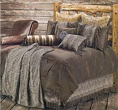Leopard Bed Set Leopard Bedroom Sets Leopard Western Bedding Comforter Set