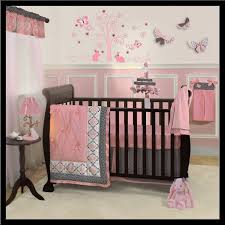 Brown And Pink Crib Bedding Baby Crib Bedding Pink Stunning Amazoncom New Pink Minky Dot