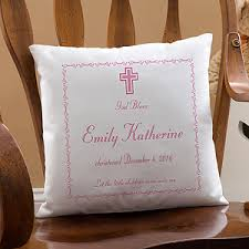 personalized pillows for baby personalized baby baptism keepsake pillow 14 personalised