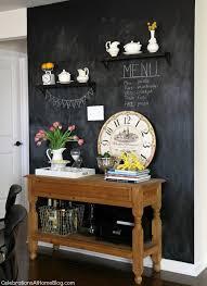 chalkboard in kitchen ideas kitchen chalkboard wall ideas ennis creative