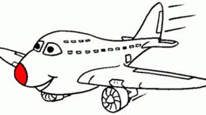cartoon drawing of airplane drawing of plane royalty free cliparts