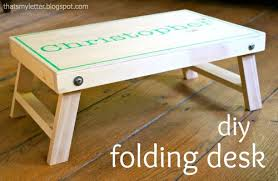 Diy Simple Wooden Desk by Ana White Folding Lap Desk Diy Projects