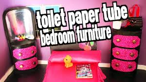 Furniture For Your Bedroom How To Make Bedroom Furniture For Your Dolls With Toilet Paper