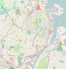 Copenhagen Map File Map Of Central Copenhagen Png Wikimedia Commons