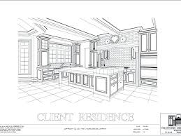 Kitchen Design Drawings Interior Design Drawing Breathtaking Interior Design Drawings