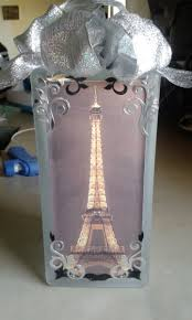 Lighted Music Gazebo by Hand Made Eiffel Tower Lighted Glass Blocks By Retha U0027s Touch Of