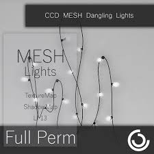 second marketplace mesh dangling lights wall decor
