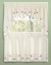 36 Kitchen Curtains by Rachael Tier U0026 Swag Curtains Rose United Curtains Jabot