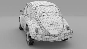 volkswagen beetle studio max 3d vw beetle 3d model in old cars 3dexport