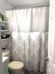 bathroom ideas with shower curtain shower curtain valance hometalk