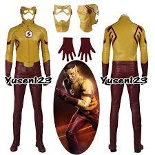 Owl Halloween Costumes The Flash Kid Flash Cosplay Costume Full Set Halloween Costume