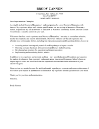 leading professional director cover letter examples u0026 resources