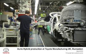 toyota manufacturing toyota signals continued confidence in uk motor manufacturing with