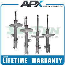 lexus es300 rear suspension buy 1302 sensen shocks struts full set 4 pieces lifetime