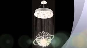 Modern Light Chandelier Modern Crystal Chandeliers Youtube